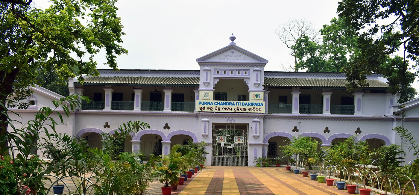 Front view of the Institute